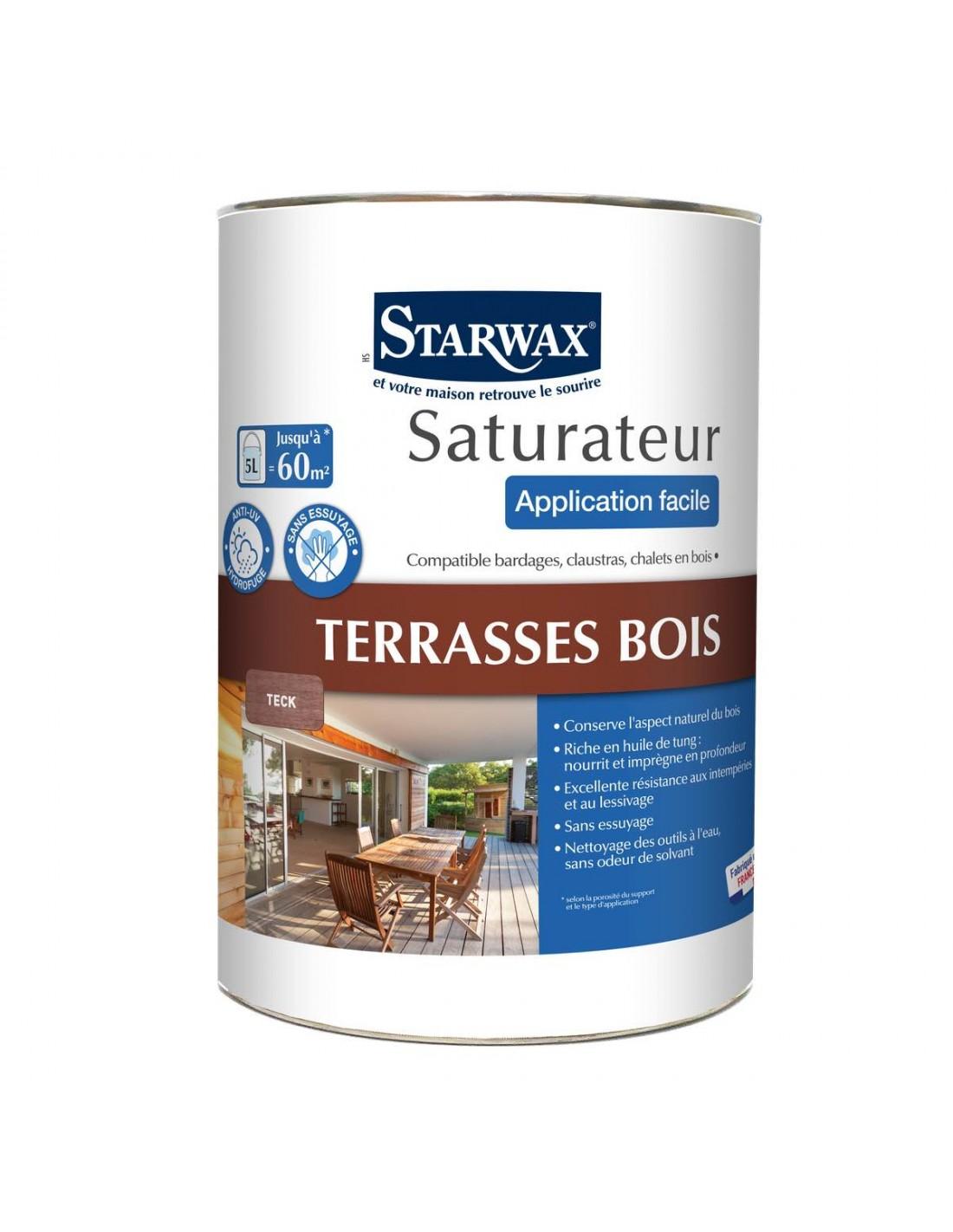 Saturateur Application Facile Teck Pour Terrasses En Bois