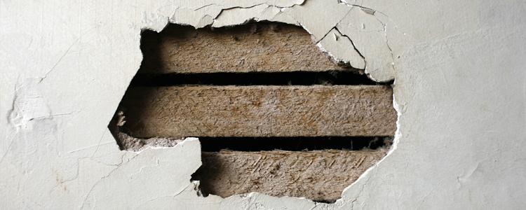 Comment Reboucher Un Trou Dans Le Mur