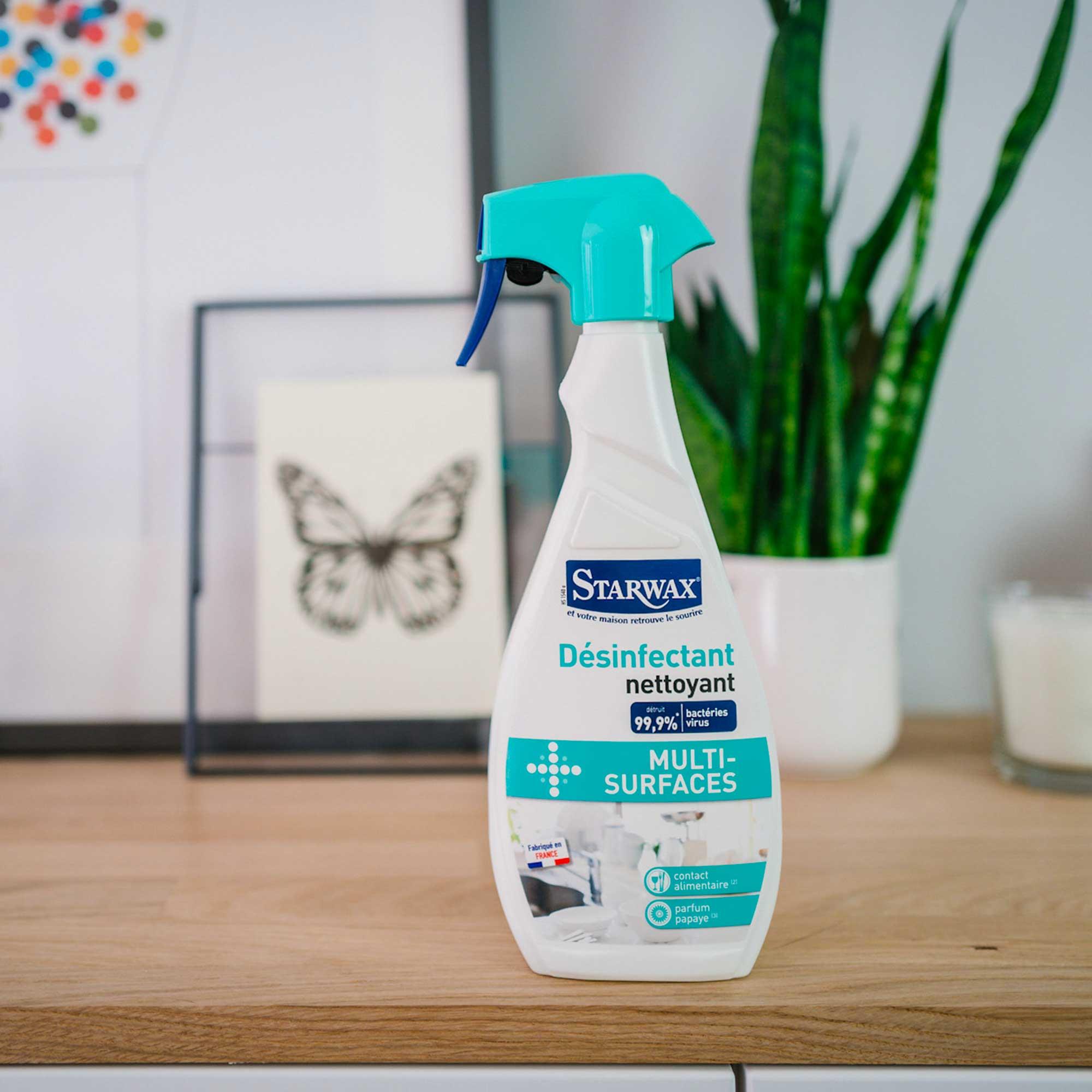 désinfectant nettoyant multi-surfaces